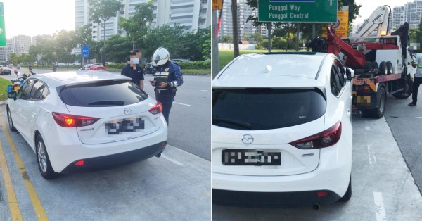 Drivers Provide Illegal Carpooling Services During P2HA, LTA Seizes Vehicles