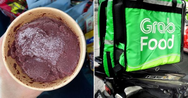 S'pore Woman's GrabFood Order Allegedly Arrives Partly Eaten, She Requests For A Refund