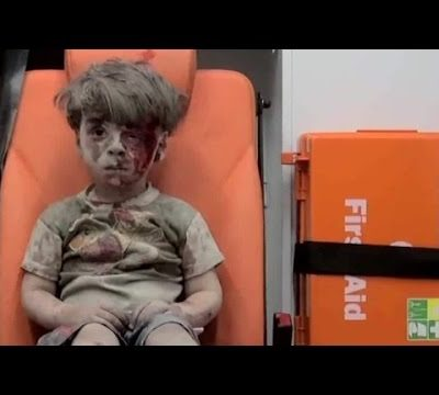 Omran: The boy who has known nothing but war