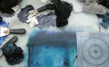 inking up circle III-blue
