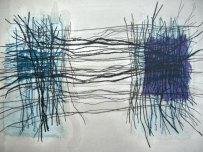 linear blue unique
