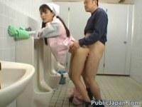 清掃のバイト中に巨根男とセックスするお嬢様系女子大生がエロ過ぎるキョニュ動画(無料