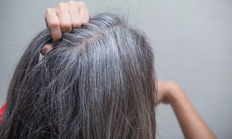 علاج شيب الشعر نهائيًا بوصفات طبيعية /متألقة