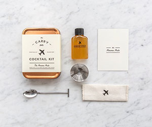 Carry On Cocktail Kit | The Best Men's Stocking Stuffers