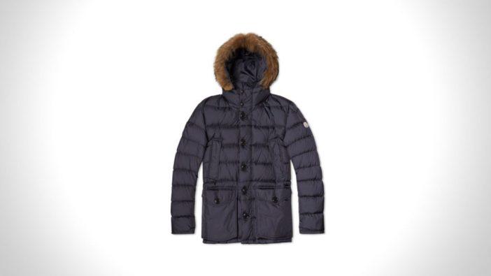best mens winter coats   MONCLER CLUNY PARKA