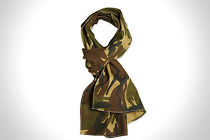 The Hill-Side Hungarian Camouflage Print Scarf-1