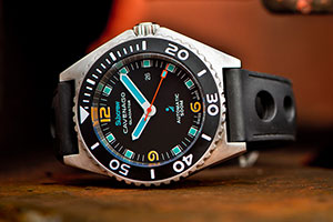 Subcrew Gladiator Watch by Cavenago | The Best Men's Stocking Stuffers