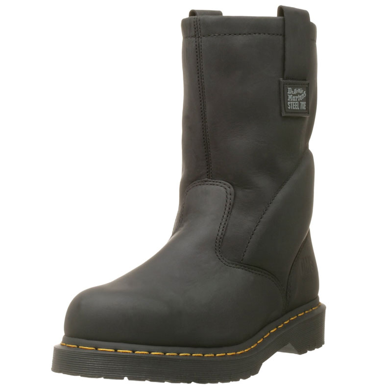 Dr. Martens Iconic Industrial Strength Steel Toe