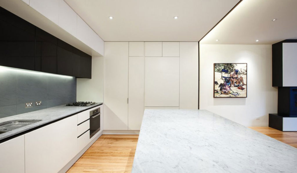 The-Nicholson-Residence-By-Matt-Gibson-Architecture-+-Design-Melbourne-Kitchen-Island