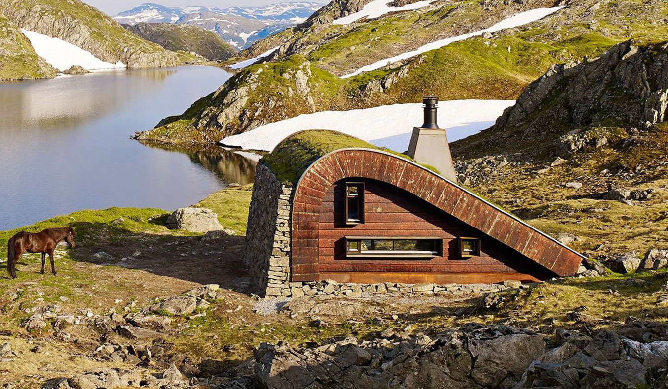 THE HUNTING LODGE BY SNOHETTA