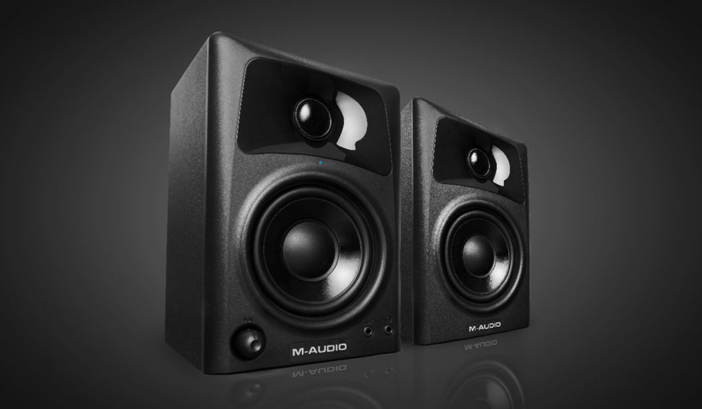 M Audio AV32 Two Way Desktop Reference Speakers | The Best Desktop Speakers