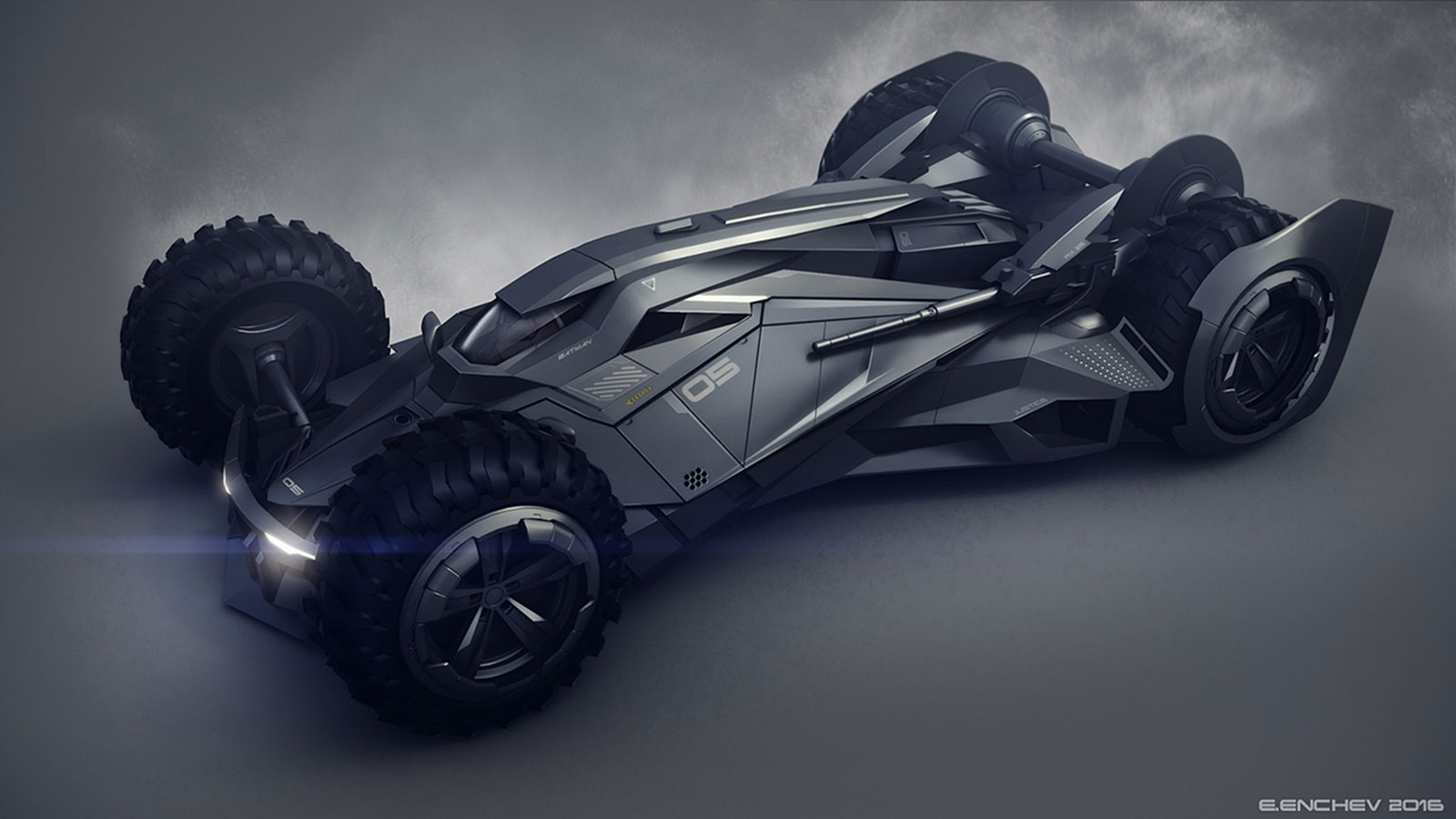 BATMOBILE CONCEPT BY ENCHO ENCHEV
