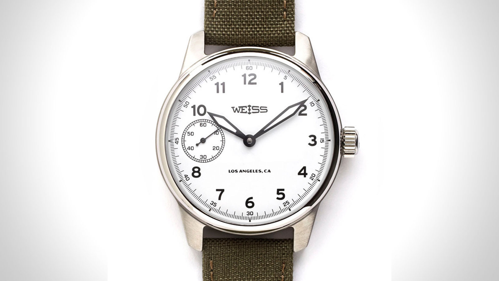 Weiss Standard Issue Mens Field Watch | the best mens field watch