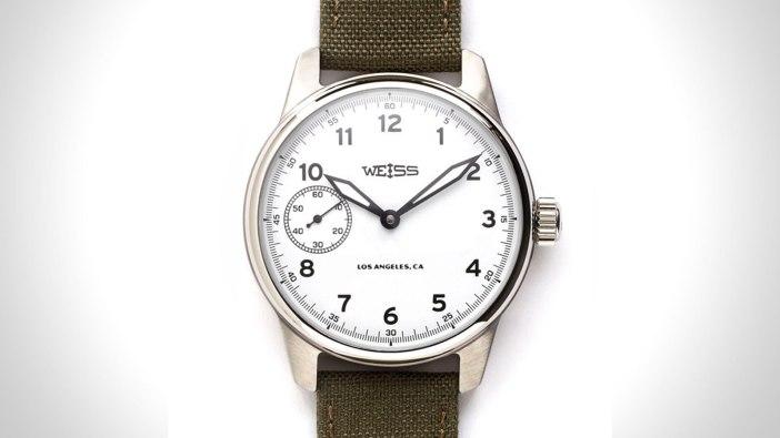 Weiss Standard Issue Mens Field Watch   the best mens field watch