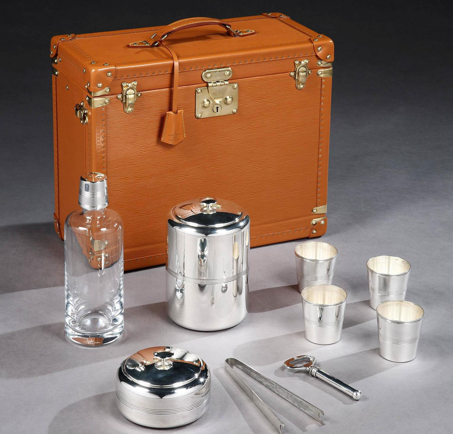 Louis Vuitton Portable Whiskey Bar