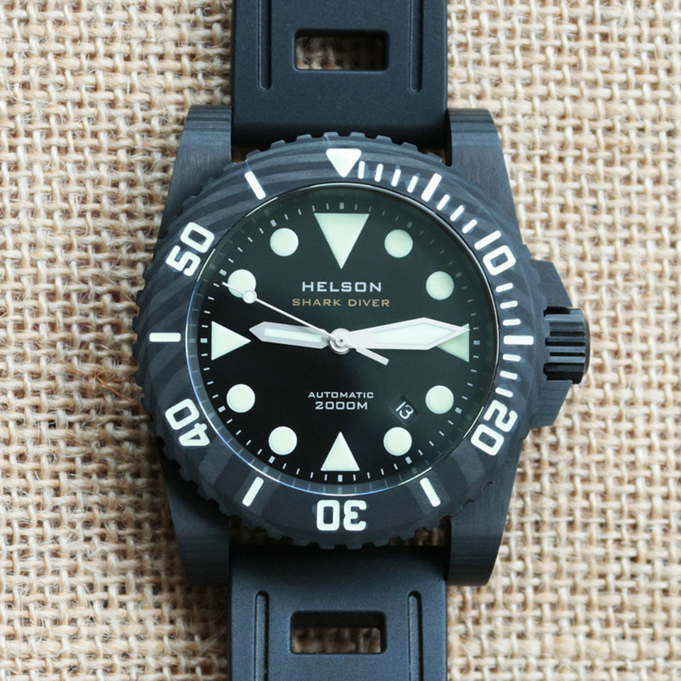 Helson Shark Diver 45 |Affordable Dive Watches
