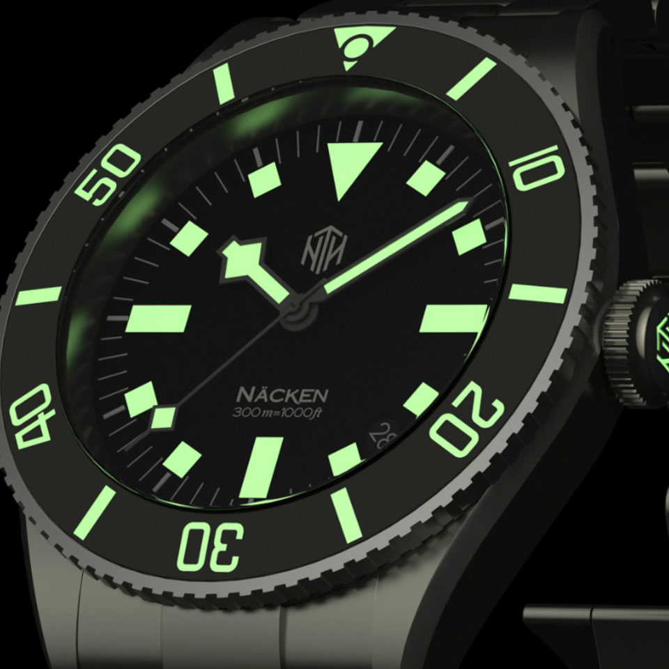 NTH Amphion | Best Dive Watch for Men