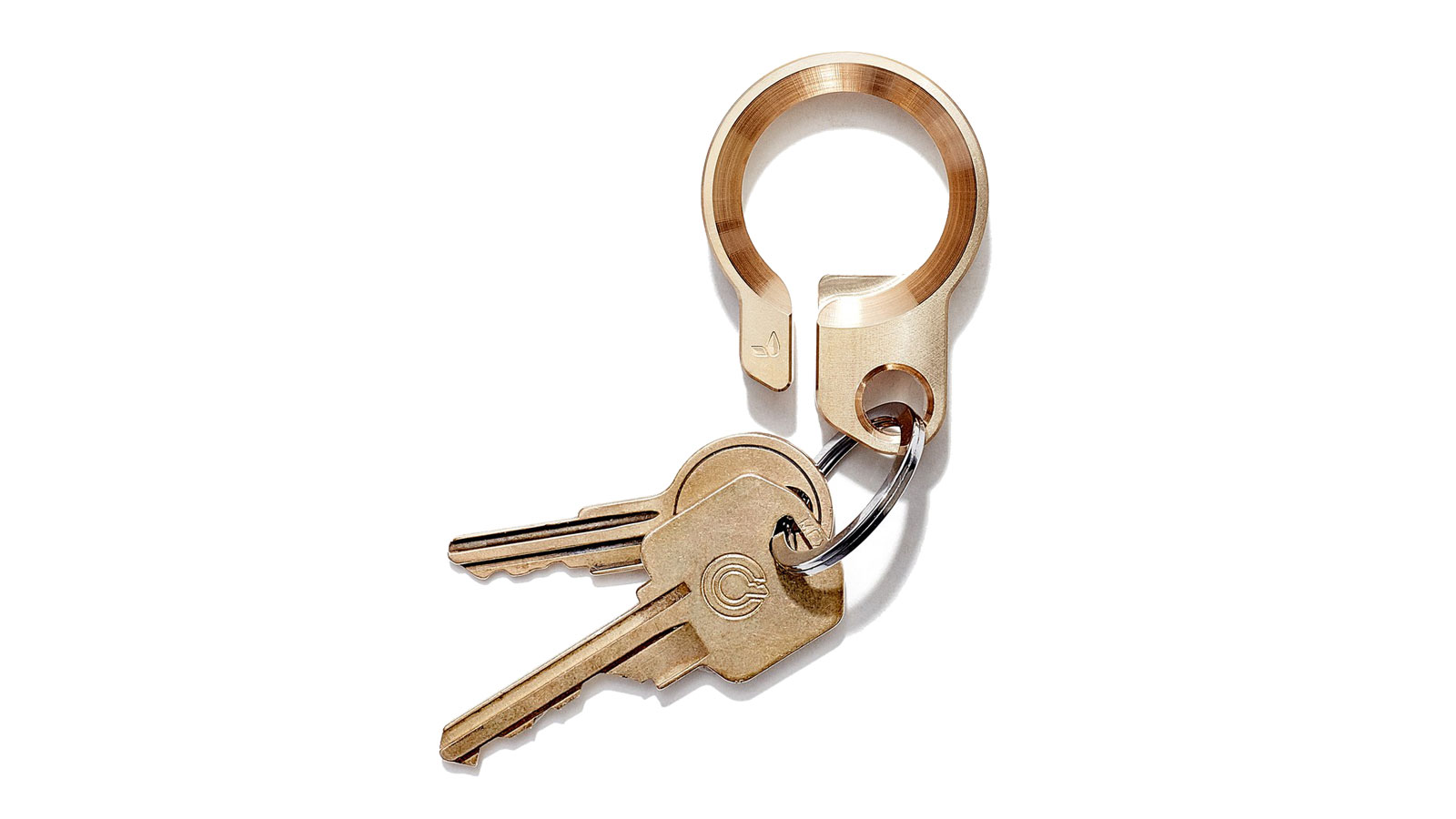 grovemade brass key ring | gifts for men | gifts for the mixologist