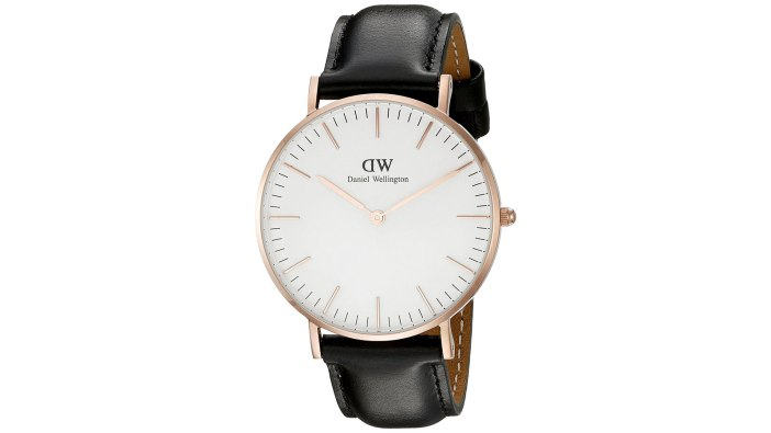 Daniel Wellington Minimalist Watch | best minimalist watches for men