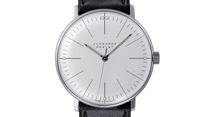 Max Bill Manual Lines Watch | best minimalist watches for men