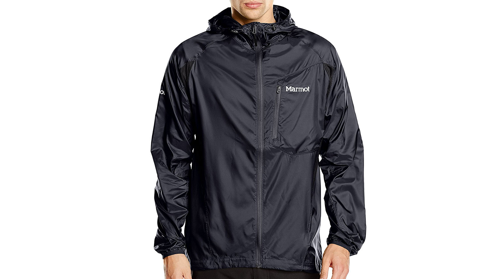 Marmot Trail Wind Hooded Men's Windbreaker Jacket | the best men's windbreakr jackets