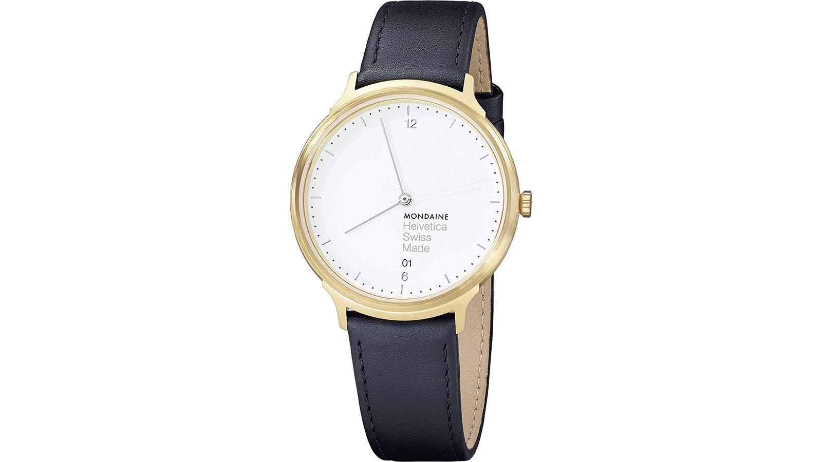 Mondaine Helvetica Light Minimalist Watch | best minimalist watches for men