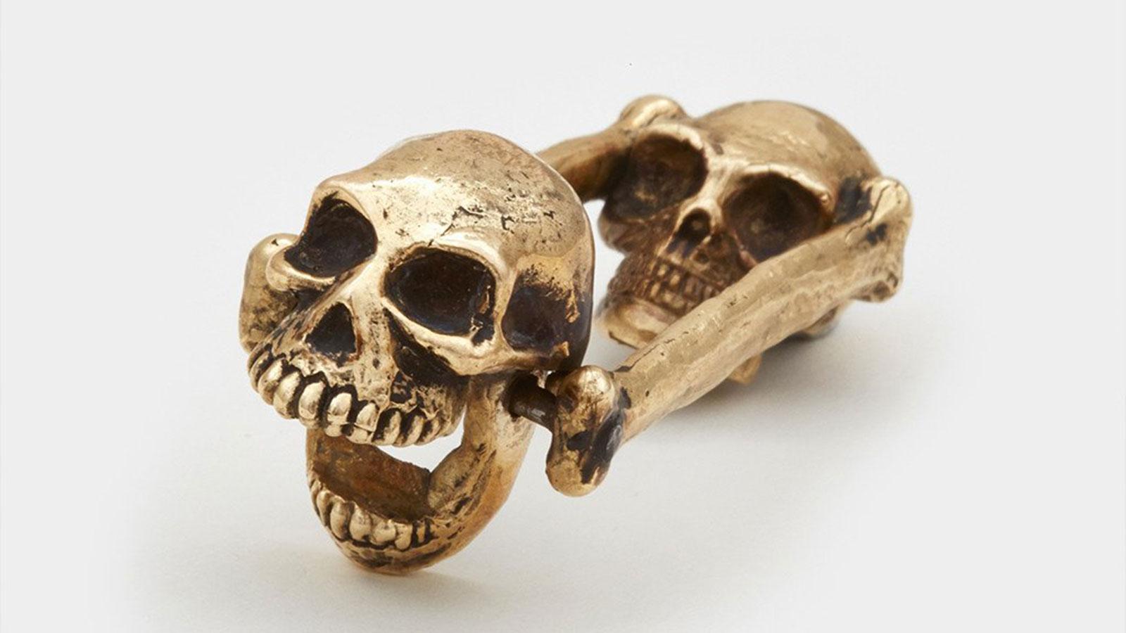 Brass Skull Bottle Opener | cool bottle openers for men