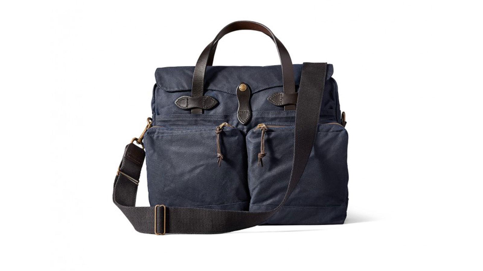 Filson 24-hour Tin Briefcase Messenger Bag | best messenger bags for men