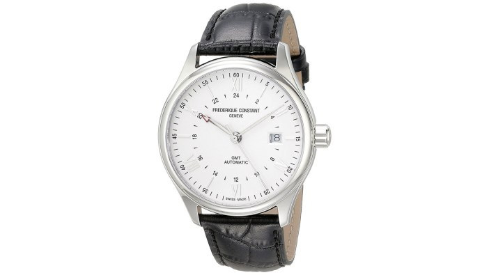 Frederique Constant Classics GMT Automatic Men's Watch | best men's watches under $1000