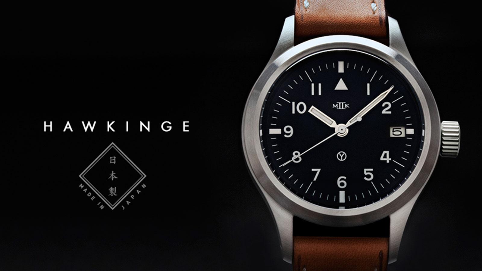 MKII Hawkinge Type 48 Men's Aviator Watch | best men's watches under $1000