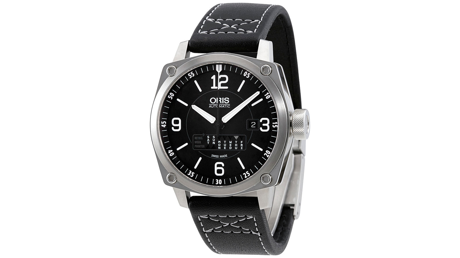 Oris BC4 Retrograde Day Automatic Men's Watch | best men's watches under $1000