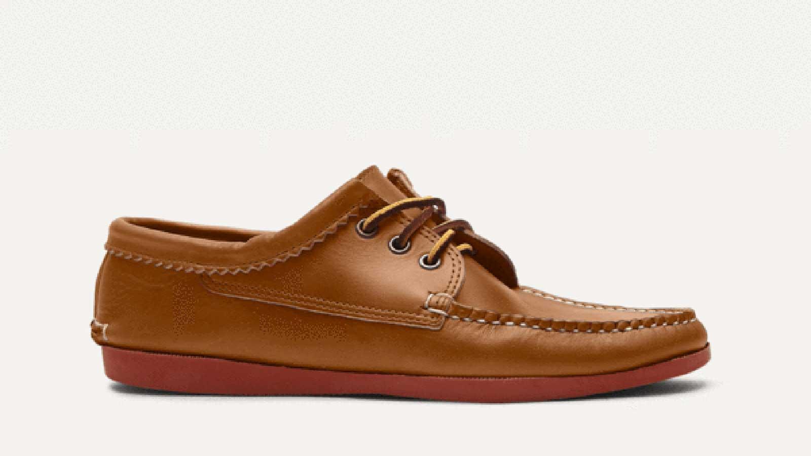 Quoddy Blucher Men's Boat Shoe | best mens boat shoes
