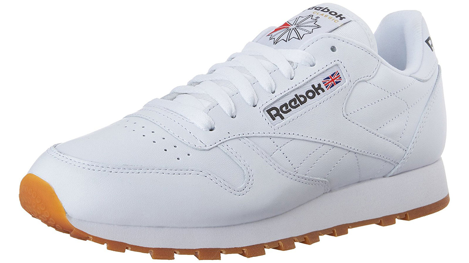 Reebok Classic Leather White Men's Sneaker | best men's white sneakers