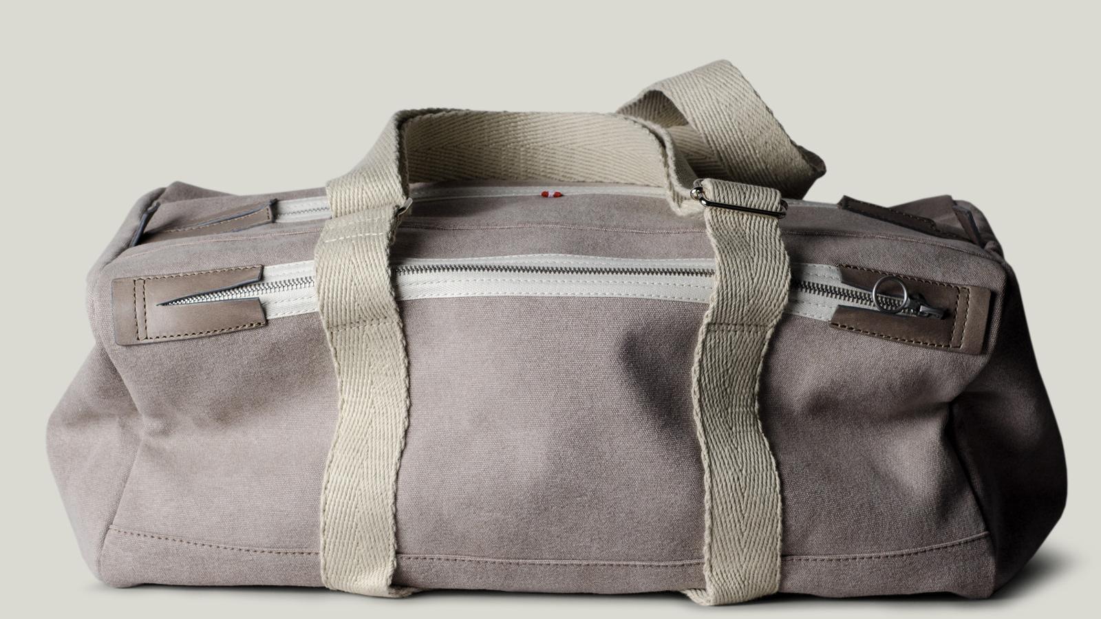 Hardgraft Game Gym Bag Off Grey | best mens gym duffle bag
