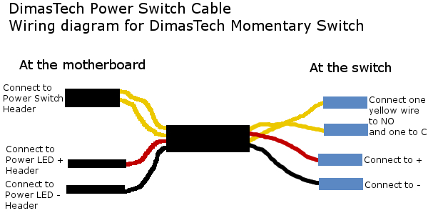 Dimastech Power Switch Connection Guide