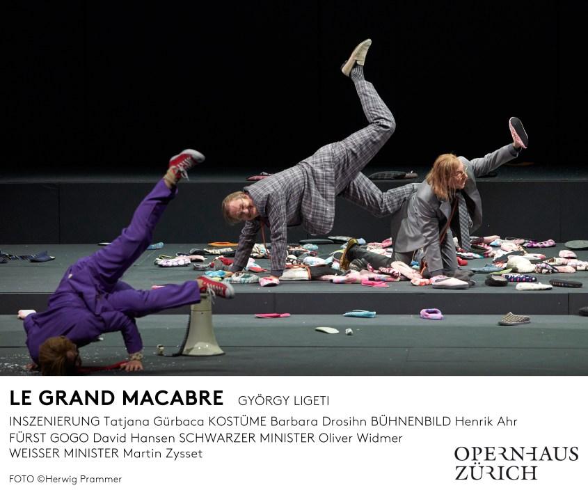 Oper Zürich - Le Grand Macabre - 2018/19