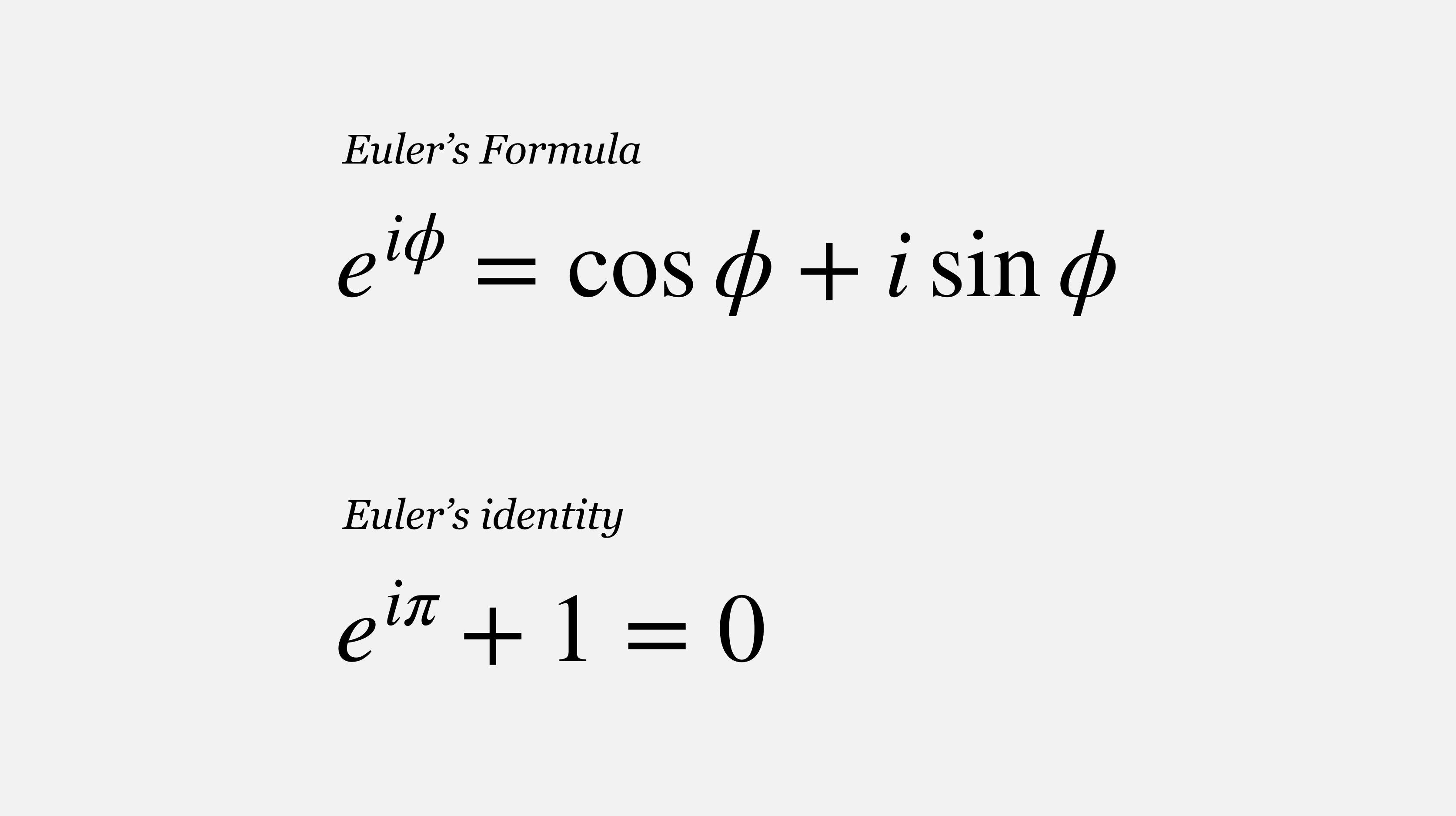 Deriving The Famous Euler S Formula Through Taylor Series