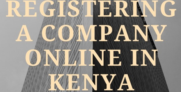 procedure of registering a company online in kenya, guide