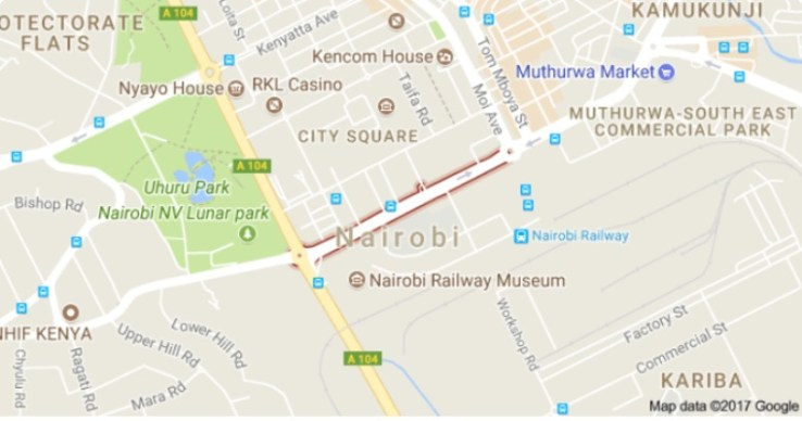 get Muthurwa Market Main Bus Terminus Routes, Location and Direction, Nairobi city Kenya