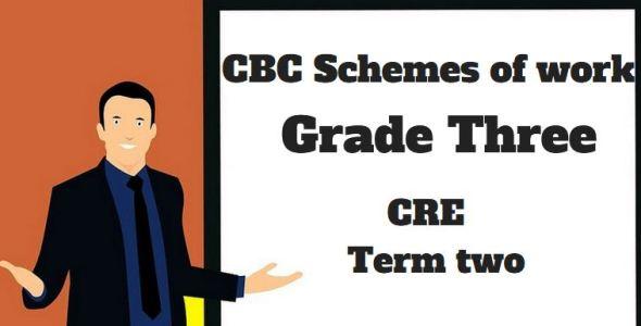CRE term 2, grade three, cbc schemes of work