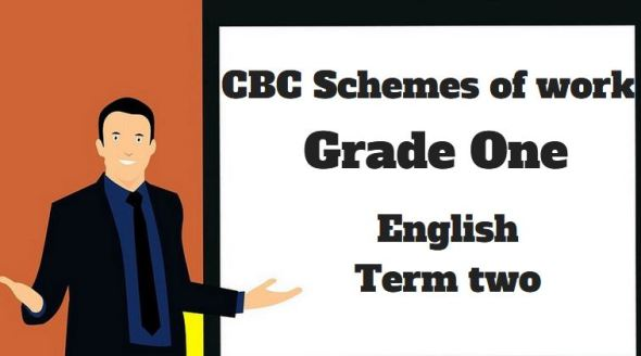 English term 2, grade one, cbc schemes of work