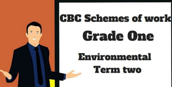 Environmental term 2, grade one, cbc schemes of work