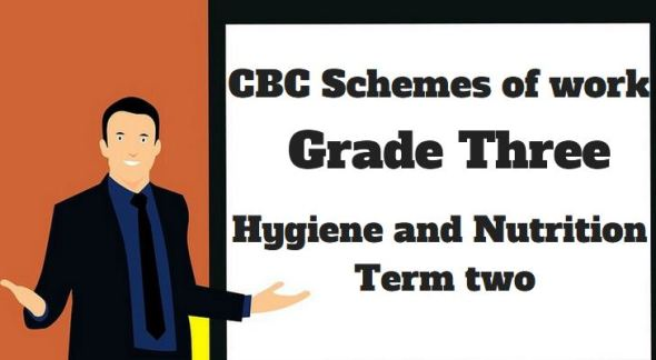 Hygiene and Nutrition term 2, grade three, cbc schemes of work
