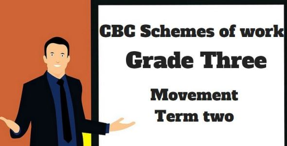 Movement term 2, grade three, cbc schemes of work