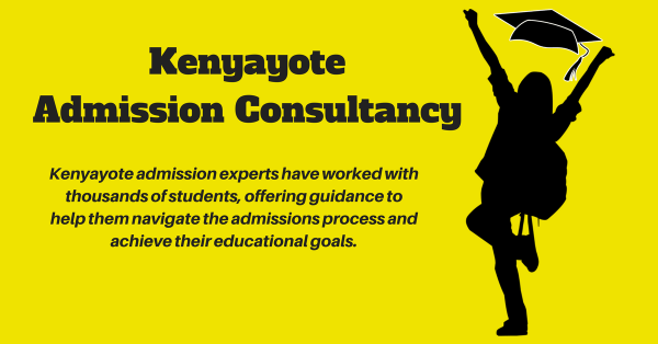 admission process in kenya, kuccps letters