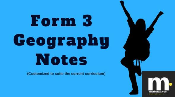 form 3 Geography notes