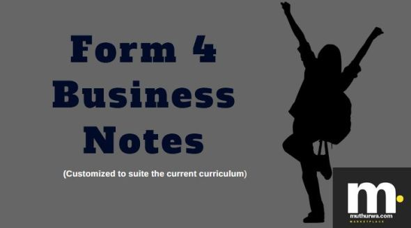 form four business notes for revision