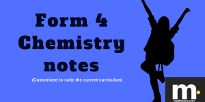 form four chemistry notes for revision and teaching