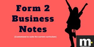 form two business notes for revision