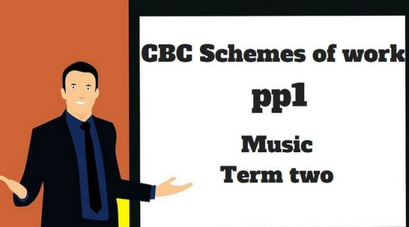 music pp1 term two, cbc schemes of work